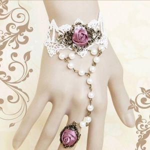 Jewelry - Victorian Style Bracelet Ring Steampunk Gothic New